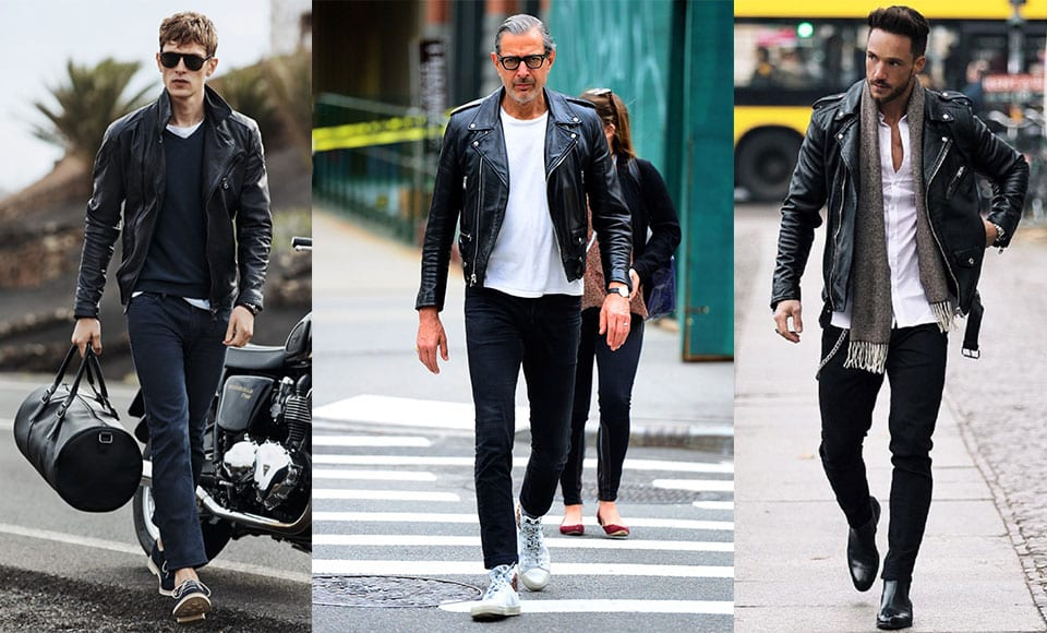 How to wear men's leather jacket and which model to choose?